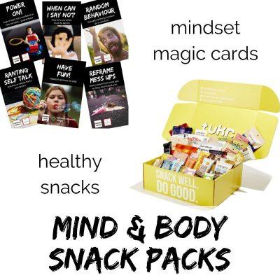 Mind & Body Snack Packs